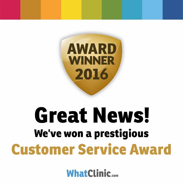 Westcoast International Dental Clinic Wins WHATCLINIC.COM Award