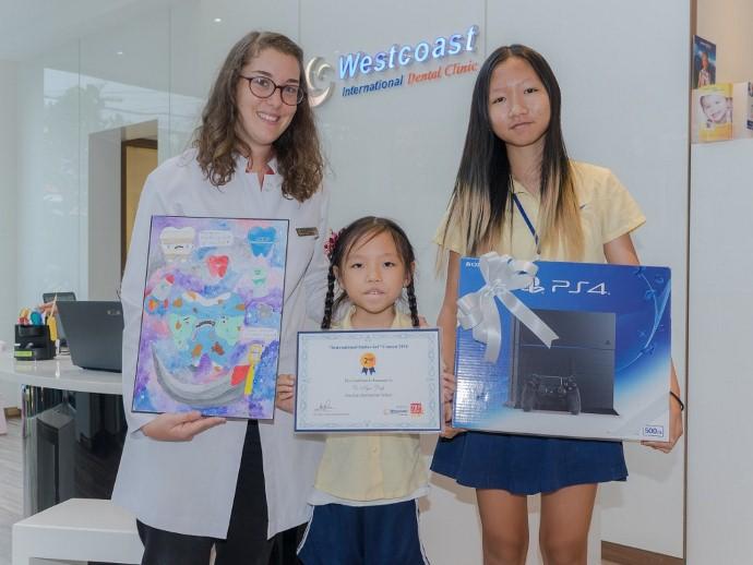 Winners of Smiles Art Contest